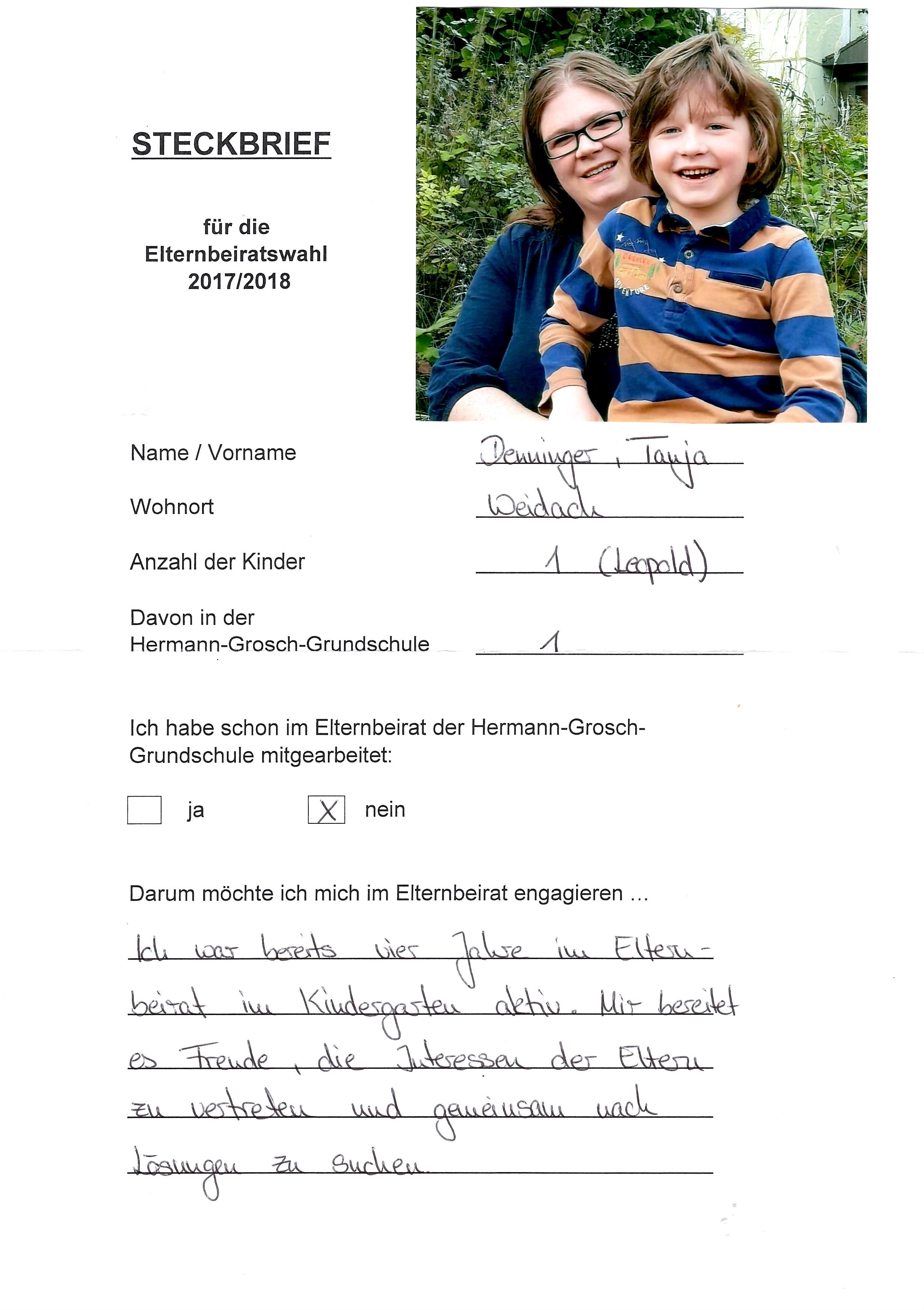 Elternbeirat Kita Steckbrief